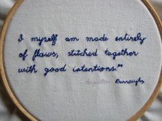 Augusten Burroughs quote by stickandcarrot, via Flickr