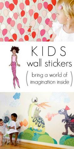 Pop and Lolli Wall Stickers for Kids