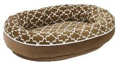 Cedar Lattice Orbit Dog Bed-Available in Four Different Sizes. Product in photo is from www.wellappointedhouse.com