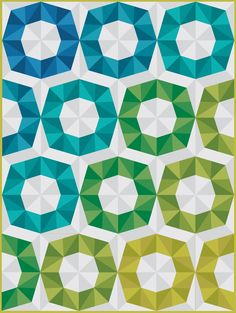 beckandlundy: Fractal Block quilt mockup - I totally love this.  Pattern at Craftsy!