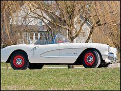 1957 Chevrolet Corvette Factory Airbox  283/283 HP Fulie, 4-Speed, 3.55 posi & HD Susp Brakes...