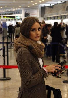 Olivia Palermo: Travel Chic Infinity Scarves are great for travel! #Cruiseone
