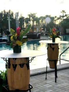 It's time to break out the drums because it's the weekend! We love to customize our pieces which we did with these Conga Drum High Boys! 🌺FloridaEventDecor #event #eventmanagement #eventmarketing #eventplanning #eventprofs #eventpros #bizbash #eventtech #orlando #florida #orlandoevent #corporateevents #eventsindustry #instaevent #themeevents