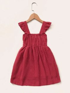 Toddler Girls Swiss Dot Ruffle Bow A-line Dress – Kidenhouse Toddler Girl Dresses, Toddler Girls, Girls Dresses, Smock Dress, Dot Dress, Swiss Dot, Pink Patterns, Girls Bows, Lace Bodice