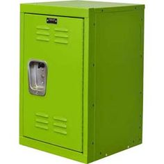 "Hallowell® Kid Mini Locker, 15""W x 15""D x 24""H, Sour Apple Green"