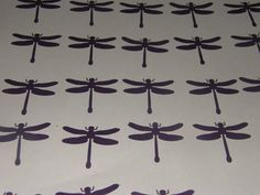 25 Purple Dragonfly by ang744 on Etsy, $2.00