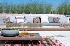 Strand stijl, mooi blanken houten vloer.  http://www.refinery29.com/eye-swoon/40#slide6