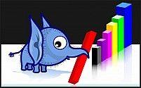 Free Elephant and graph Illustration