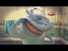 Hungry Shark Shorts - The Daily Grind
