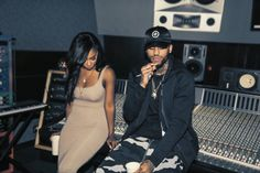 Sevyn & Dave East in the studio. - A Blog About.....Nothin'