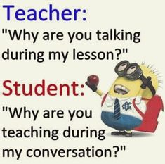 """These """"Top 20 LOL SO True Memes Minions Quotes"""" are very funny and full hilarious.If you want to laugh then read these """"Top 20 LOL SO True Memes Minions Quotes"""" Funny Minion Pictures, Funny Minion Memes, Funny School Memes, Some Funny Jokes, Crazy Funny Memes, Really Funny Memes, Haha Funny, Minions Quotes, Funny Humor"""