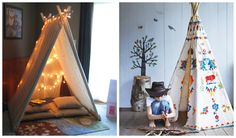 Give the children space where they can build their own fortress. It is really important the kids to have place where they can fulfill their fantasies. Kids