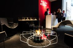#Ethanol #fireplaces by Planika on Milan Design Week, Superstudio Piu #milandesignweek