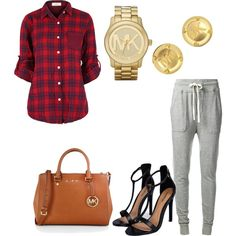 MK by koriunnajackson on Polyvore featuring polyvore fashion style James Perse Boohoo MICHAEL Michael Kors Michael Kors