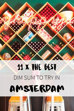 Who doesn't love Dim Sum? There are many places in Amsterdam where you can get this tasty food. Want to know where? Check the list on http://www.yourlittleblackbook.me