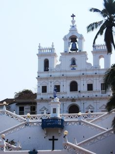 Main cathedral in Panjim, North Goa.  What to do inGoa | travel slow & eat local