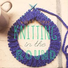 If you have been following my blog, you know that I have only been knitting for a little over a year. I have come a long way in a short time, but have avoided things like circular needles, cable kn...