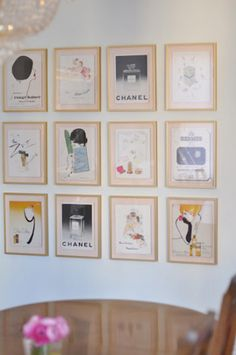 Home: Eleven Inspiring Gallery Walls (Shannon Darrough : Gallery Wall Greatness …)