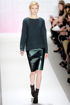 tibi / a fabulous sartorial combination of my two favorite things--shiny and slouchy