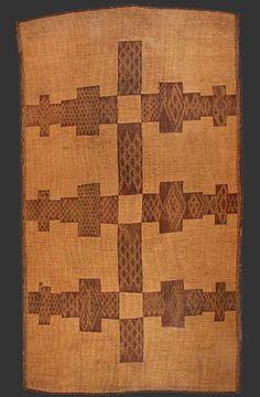 Blazet Gallery -'Touareg' mat, Mauretania, made from leather + fibers, first half 20th