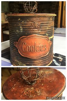 1 million+ Stunning Free Images to Use Anywhere Tin Can Crafts, Diy And Crafts, Arts And Crafts, Tin Can Alley, Aluminum Cans, Free To Use Images, Hand Painted Furniture, Tin Boxes, Decoupage