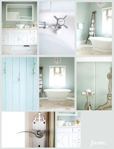 Bathtub ideas...it will be a glorious day when the tub travels upstairs to it's final destination!
