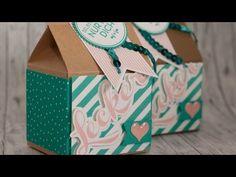 Leckereien Box - Neue Thinlits von Stampin' Up! - YouTube