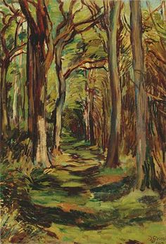 DUNCAN GRANT  The Glade, Firle Park, East Sussex (1943)