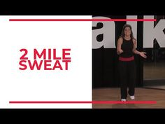 2 Mile SWEAT | At Home Workouts - YouTube Walking Training, Race Training, Walking Exercise, Walking Workouts, Training Equipment, Hiit, Cardio, Elliptical Workouts, Easy Workouts