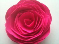 ZONA DE MANUALIDADES: Rosas de Papel