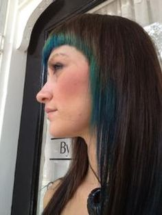 peacock hair blue green pravana chromatics wella