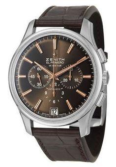 Zenith Captain Chronograph Men's Automatic Watch 03-2110-400-75-C498