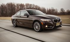 2015 BMW 228i xDrive, AWD, EPA city/highway: 23/35 mpg, AWD introduced in 2015