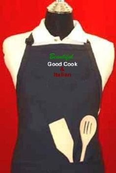 """""""Beautiful, Good Cook, and Italian"""" - Blue Embroidered Adjustable W/pockets - Aprons for Women Funny G4FF,http://www.amazon.com/dp/B00FNV7LAS/ref=cm_sw_r_pi_dp_h4vytb0Z5X46TYK6"""
