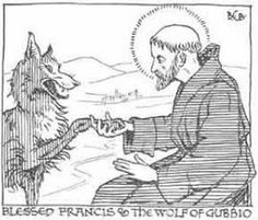 Celebrate October 4 The Feast Day Of Saint Francis Of Assisi With St Francis Of Assisi Coloring Page