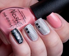 ChitChatNails » Blog Archive » Nicole by OPI – Selena Gomez Collection.  Stamping nail art