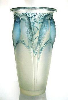 RenéLalique -Ceylon bird vase c.1924
