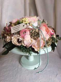 Handmade Flowers, Paper Flowers, Floral Wreath, Easter, Wreaths, Spring, Diy, Home Decor, Crates