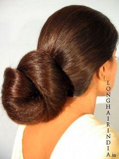 Bun Hairstyles For Long Hair, Braids For Long Hair, Updo Hairstyle, Long Hair Girls, Girl Hairstyles, Long Silky Hair, Super Long Hair, Big Hair, Beautiful Braids