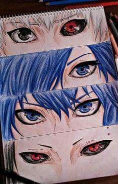 Tokyo ghoul eyes
