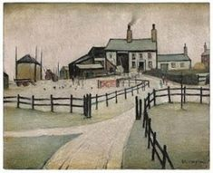 S Lowry painting never before seen in public to be auctioned off - and it could fetch over - Manchester Evening News English Artists, Primitive Folk Art, Beach Scenes, Beautiful Paintings, Flower Prints, Animal Photography, Manchester, Landscapes, Illustration Art