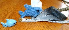 Hand Crochet Tiny Baby Shark / Made to order by NefertariCrafts