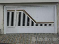 Gate Wall Design, Home Gate Design, Front Gate Design, Steel Gate Design, Main Gate Design, Door Design Interior, Gate House, Facade House, Iron Doors