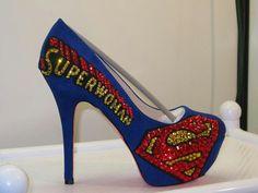 Superwoman heals