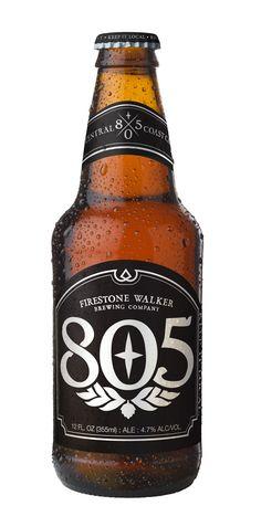 805 Blonde Ale (Firestone Walker Brewing Co. California, USA) 4.7%