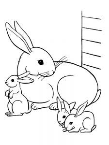 Free Printable Easy Bunny Coloring Pages Free Coloring Sheets In 2020 Family Coloring Pages Bunny Coloring Pages Dinosaur Coloring Pages