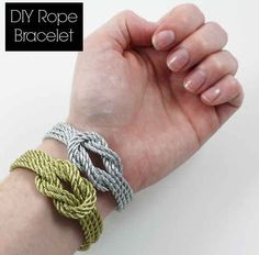 Made By Girl DIY: Rope Bracelet | 22 Crafts To Make You Fall In Love With DIYing