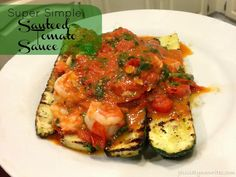 Super Simple Sauteed Tomato Sauce