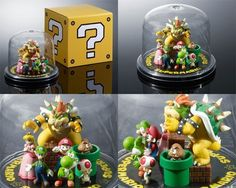 Brand NEW Super Mario Characters Figure Club Ninteno from JAPAN