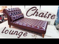 Шезлонг chaise lounge DIY мебель своими руками - YouTube Chaise Lounges, Furniture Making, Diy Furniture, Furniture Design, Wooden Sofa Set Designs, Diy Projects Plans, Car Upholstery, Decoration, Couch